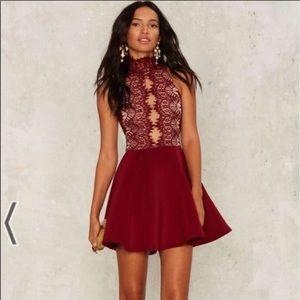 NWTO   Nasty Gal   Rare London lace dress